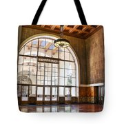 Restaurant In Los Angeles Union Station Tote Bag