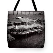 Restaurant On The Bay Tote Bag
