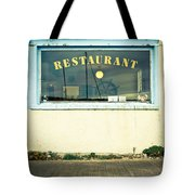 Restaurant Window Tote Bag