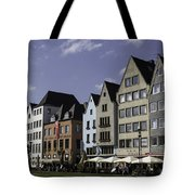 Restaurants And Brewpubs Along The Rhine Cologne Tote Bag
