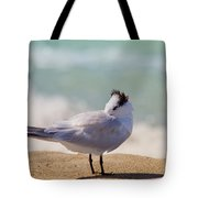 Resting At The Beach Tote Bag
