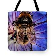 Resting Bee Tote Bag