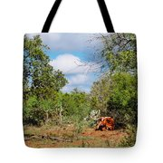 Resting Longhorn Bull - San Marcos Texas Hill Country Tote Bag