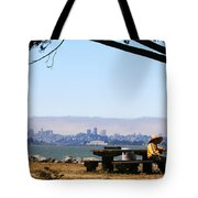 Resting On The Emeryville Penninsula Tote Bag