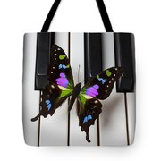 Resting On The Piano Tote Bag by Garry Gay