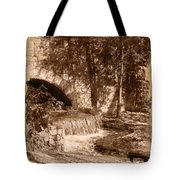 Resting Place - Digital Charcoal Drawing Tote Bag
