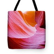 Resting Place In Lower Antelope Canyon In Lake Powell Navajo Tribal Park-arizona  Tote Bag