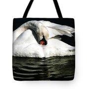 Resting Swan Tote Bag