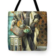 Resting Time Tote Bag