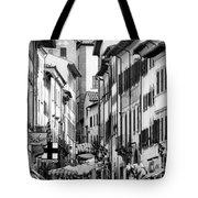 Restless In Arezzo-italy Tote Bag
