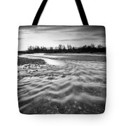 Restless River IIi Tote Bag by Davorin Mance