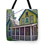Resurrected In Asbury Grove In South Hamilton-massachusetts Tote Bag