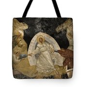 Resurrection Of Adam And Eve Panorama Tote Bag