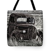 Retired Farm Truck Tote Bag