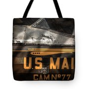 Retired Mail Carrier - Pitcairn P-6 Mailwing 1929 Tote Bag