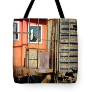 Retired Railroad Tote Bag