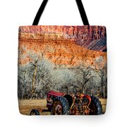 Retired With A View Tote Bag