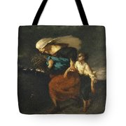 Retreat From The Storm Tote Bag