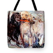 Retrieving Fools Tote Bag