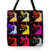 Retro 50s Rockabilly Tote Bag by Tommytechno Sweden