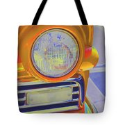 Retro Auto Two Tote Bag