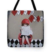 Retro Beauty Shop Tote Bag
