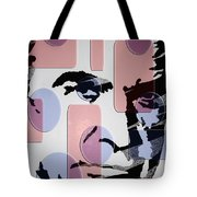 retro Bond Tote Bag