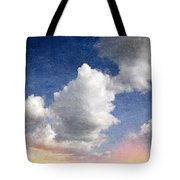Retro Clouds 2 Tote Bag