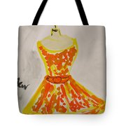 Retro Fall Fashion Tote Bag