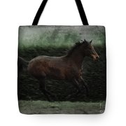 Retro Horse Tote Bag