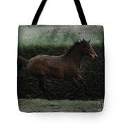 Retro Horse Tote Bag