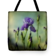 Retro Iris Metting Tote Bag