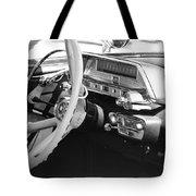 Retro Police Dash Tote Bag