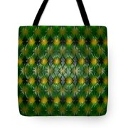 Pattern Plastic Tote Bag