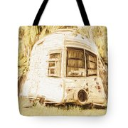 Retrod The Comic Caravan Tote Bag
