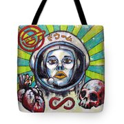 Return Of The Astro-goth Tote Bag