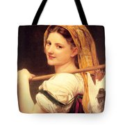 Returned From The Market Tote Bag