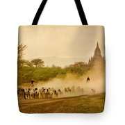 Returning From Pasture 4 Tote Bag