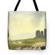 Returning Home     Stonehenge Tote Bag