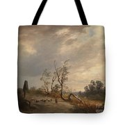 Returning Home Before An Approaching Storm Tote Bag
