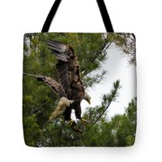 Returning With Dinner Tote Bag
