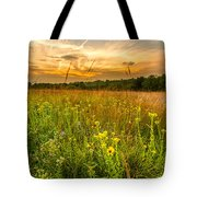 Retzer Wildflower Sunset Tote Bag