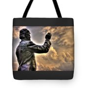 Rev. Father William E. Corby C S C - Blessing The Troops Of The 88th New York Infantry Irish Brigade Tote Bag