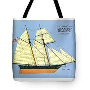 Revenue Cutter Alexander Hamilton Tote Bag