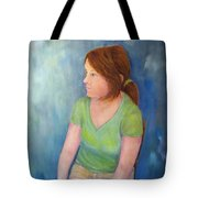 Reverie Of A Young Woman Tote Bag