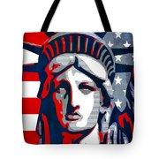 Reversing Liberty 1 Tote Bag