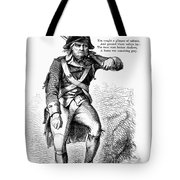 Revolutionary Soldier Tote Bag
