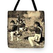 Revolutionary War Battle Tote Bag
