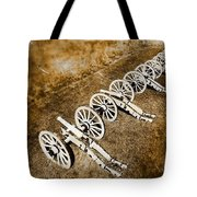 Revolutionary War Cannons Tote Bag