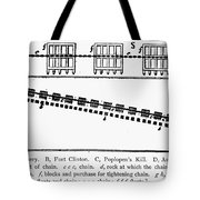 Revolutionay War Plan Tote Bag
